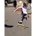 PE- learning to jump safely