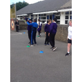 Year 5 were fantastic at javelin, there could be some potential future Olympic stars!