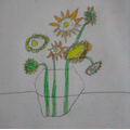 For Fun-Filled Friday this week, we have been drawing Van Gogh inspired pictures.