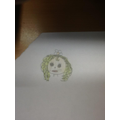 We drew pictures of what we predicted the main character in 'Wild' to look like.
