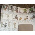 For World Book Day, we read 'The Lost Happy Endings' and created story maps.