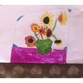 For Fun-Filled Friday this week, we have been drawing Van Gogh inspired pictures