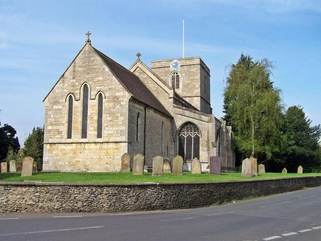 All Saints Church in Ruskington.