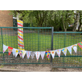 Colourful Bunting.