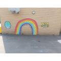 Rainbow art.