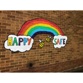 Happy and safe rainbow.