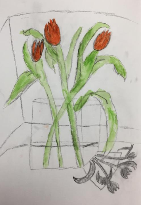 Year 3 observational drawing