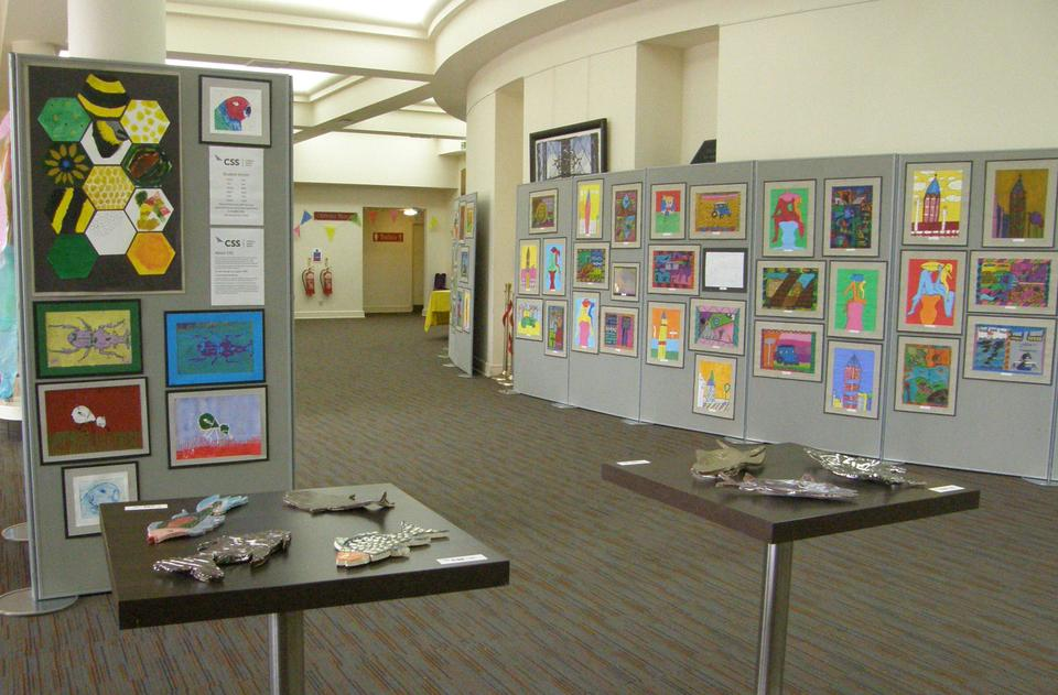 We exhibited our work alongside the CSS