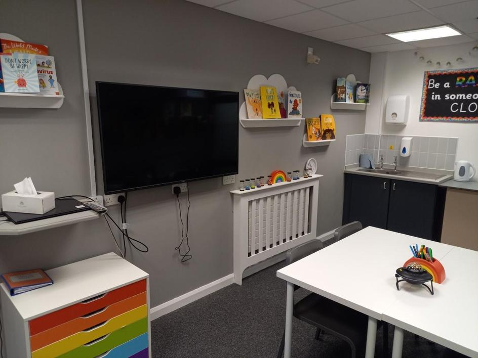 Our Rainbow Room is used for learning support too!