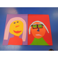 Our colourful portraits!
