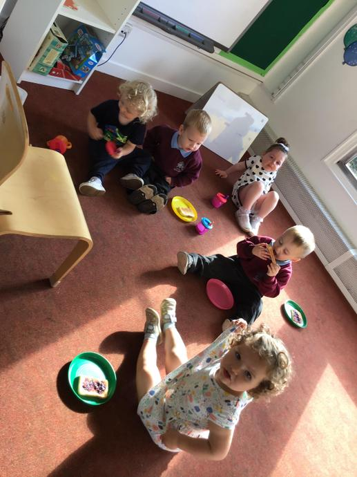 We tasted our home made jam at snack time!