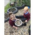 Nursery - exploring our garden