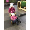We have lots of fun at Nursery!