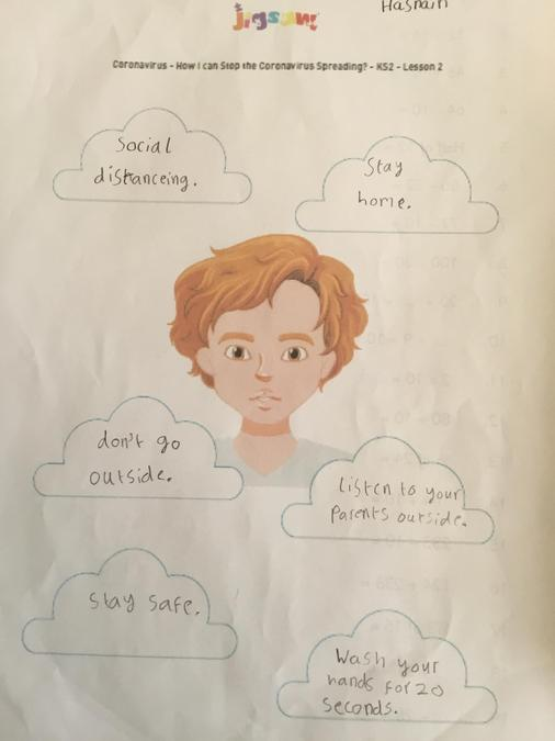 Hasnain - How to stay safe.