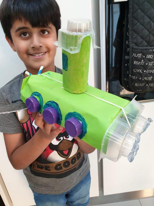 A great submarine model by Yusuf!