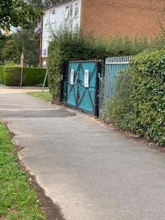 Gate to Trelawney playground