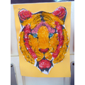 Continents Day: Year 1 Asian inspired tiger