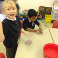 Reception - We are investigating slime!