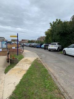 Car park that you walk through to get to Gosling Gate