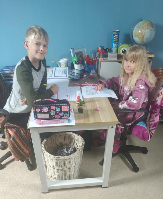 Madison and Shen - home learning