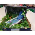 Year 3 Rainforest Dioramas