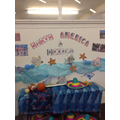 Continents Day: Octopus portraying The Americas