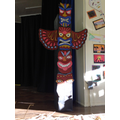 Continents Day: Year 3 African Totem pole