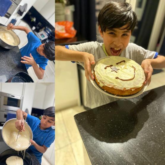 Hashim, save me a slice please!