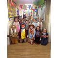 Class 1 are ready for their party day!