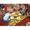 Party games - Mrs Twits worms!