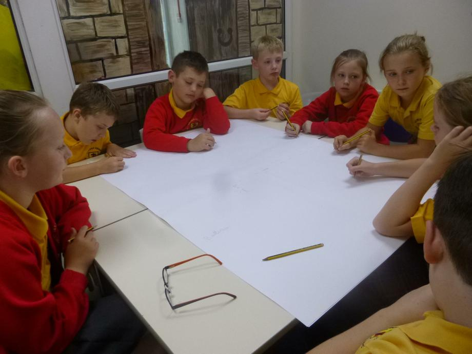 Planning our Assembly and Display.