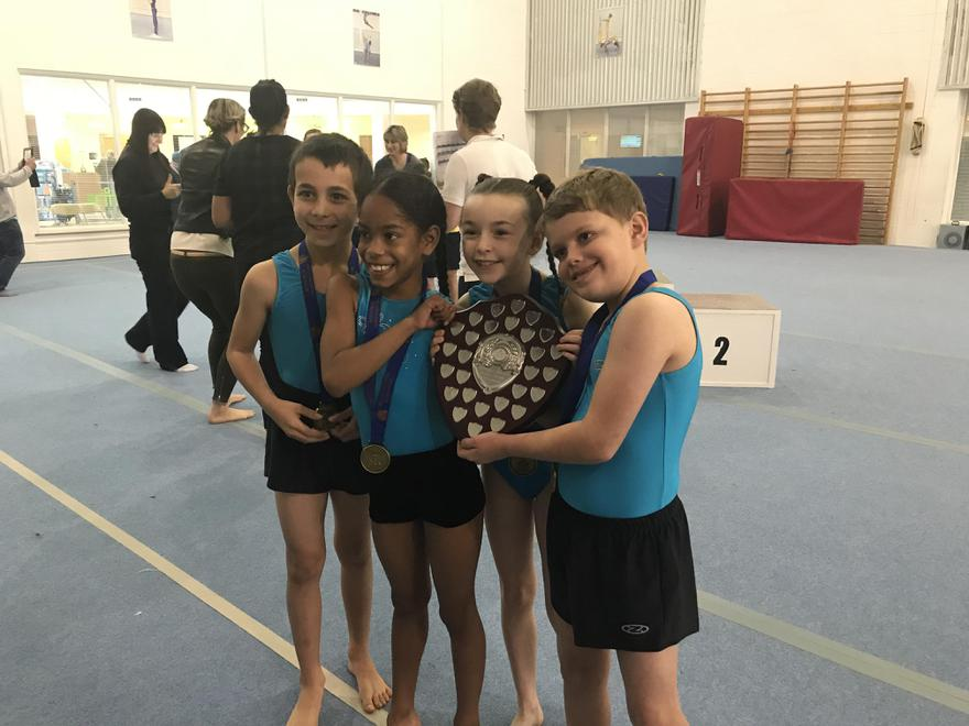 Year 3 and 4 Gymnastics Competition Winner.