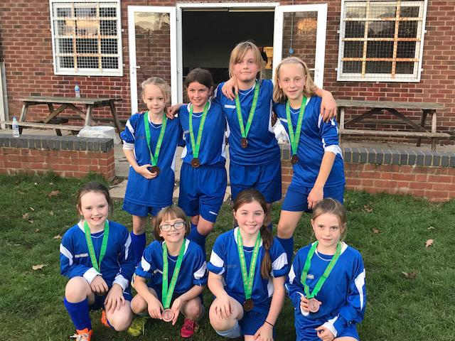 Year 5 and 6 Girls Football Tournament- Runners Up