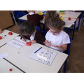 Adding two numbers.