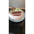 Finn's 'Mint Aero Cake'