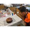 Harry's 'Sweet Chocolate Kingdom' Cake