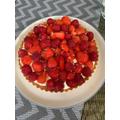Mrs Weller's Lemon Strawberries and Mascarpone Crostata