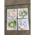 Liam's Spinning Art!