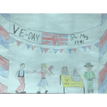 Clara's VE day Celebrations