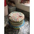 Joseph's 'Rainbow Cake'
