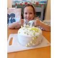 Maddie's 'Mermaid Cake'