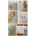 Hayley's cartoon characters
