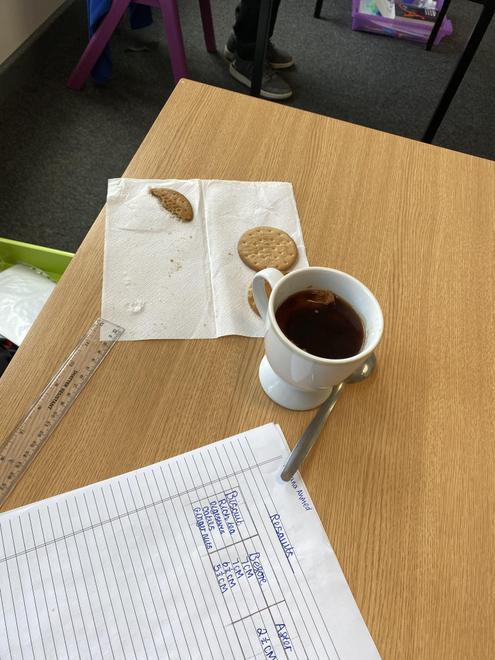 Secondary School Biscuit Experiment