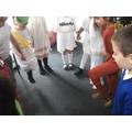 We practised and performed traditional Greek dances!dacne