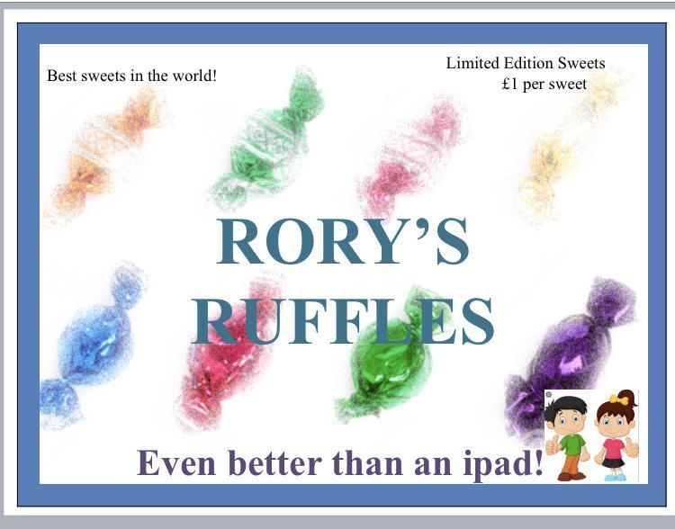Rory's very own Sweet brand!