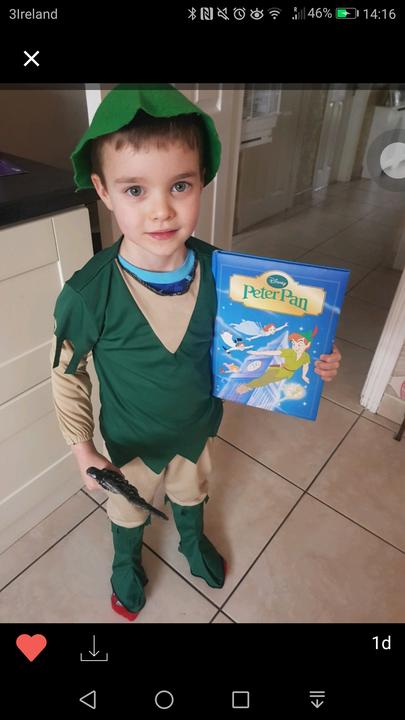 Luke is 'Peter Pan'