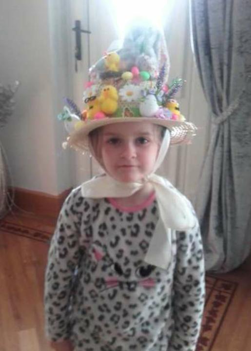 Kara's fantastic Easter bonnet