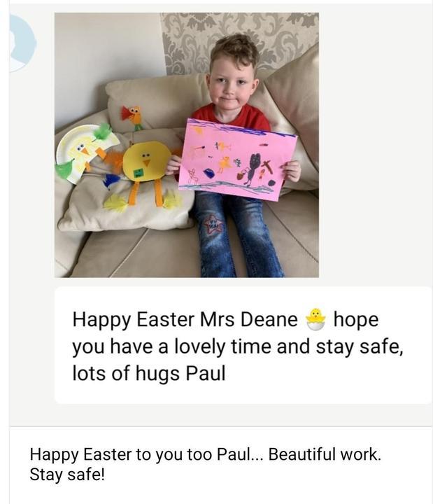 Fantastic Easter art!