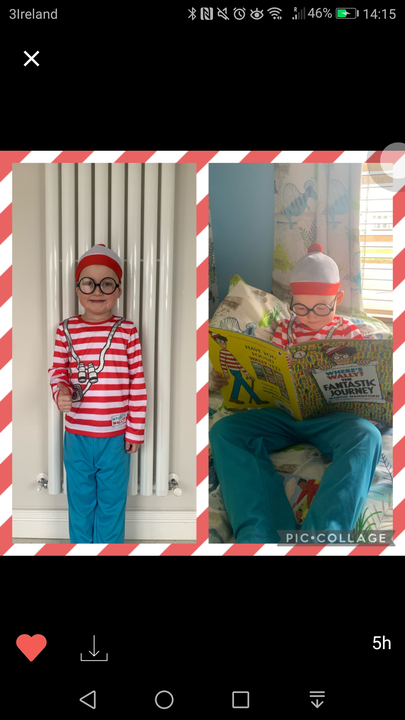 Paul is 'Where's Wally?'