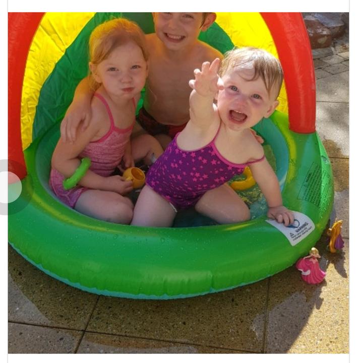 Splashing family fun